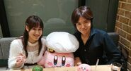 Makiko Ohmoto Masahiro Sakurai Kirby Café
