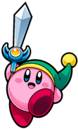 KBR Sword Kirby 2 Artwork