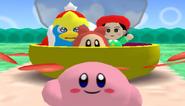Kirby Leaving Ribbon
