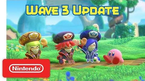 Kirby Star Allies Wave 3 Update - The Three Mage Sisters Work Their Magic!