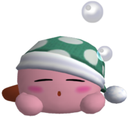 Kirby Sleep trophy 3688