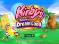 Kirby RtDL Title