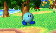 SSB3DS Blue Kirby