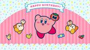 1366x768 birthday wallpaper kirby
