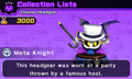 Meta Knight alt costume