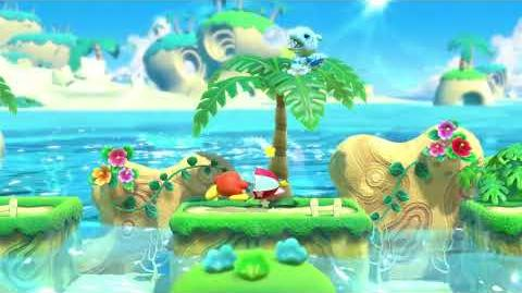 Kirby Star Allies Parasol Waddle Dee Showcase