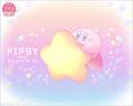 Kirby Meets Dippin Dots 25th Anniversary Artwork