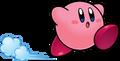 KSSU Kirby running artwork