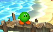SSB3DS Green Kirby