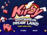 Kirby: Nightmare in Dream Land Kirby Mini-Game
