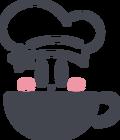 Kirby Cafe Teacup Logo