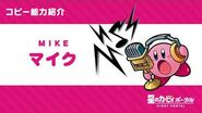 """Kirby of the Stars Copy Ability """"Mike"""" Introduction Video"""