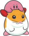 Kirby Riding on Rick KDL3.png
