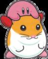 Kirby Riding on Rick KDL3