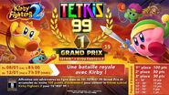 Tetris 99 Kirby Fighters 2