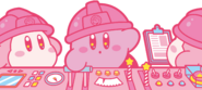Kirby's Dream Factory Kirby Waddle Dee artwork