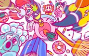Kirby 25th Anniversary artwork 7