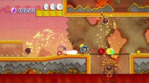 E3 2010 FIRST LOOK Nintendo Wii Kirby's Epic Yarn Official Trailer
