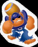 SSBB Bonkers sticker
