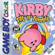 Kirby Tilt 'n' Tumble box art