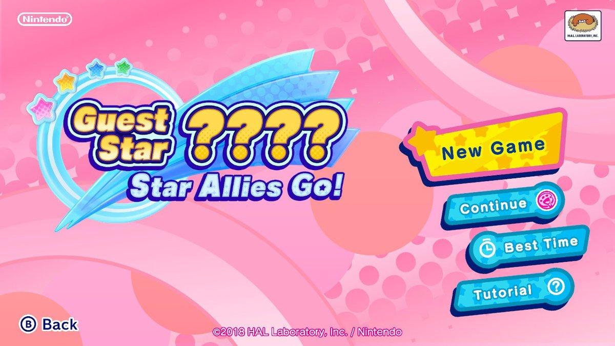 Guest Star ???? Star Allies Go!