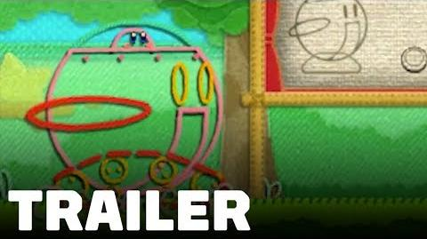 Kirby's Extra Epic Yarn 3DS Announcement Trailer
