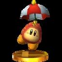 Trophée Waddle Dee Parasol 3DS