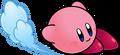 KSSU Kirby slidekicking artwork