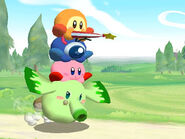 Parasol Waddle Dee on Waddle Doo on Kirby on Heat Phan Phan.