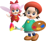 Adeleine et Ribbon artwork KSA