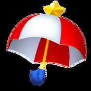 Kirby Triple Deluxe Parasol Artwork