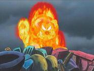 Fire Lion Anime