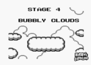 Bubbly Clouds Kirby's Dream Land