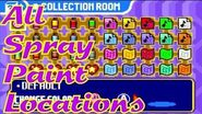 Kirby & The Amazing Mirror - All Spray Paint Locations-1