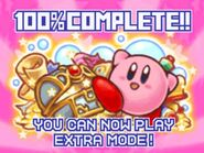 Kirby Mouse Attack 100% complete