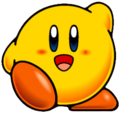 KNiDL Yellow Kirby artwork