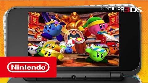Kirby Battle Royale – Vorstellungs-Trailer (Nintendo 3DS)