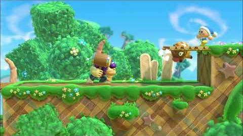 Kirby Star Allies Bonkers Showcase