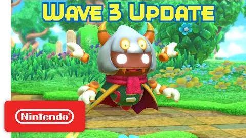 Kirby Star Allies Wave 3 Update - Taranza weaves a web! - Nintendo Switch