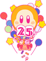 K25TH Waddle Dee Balloon