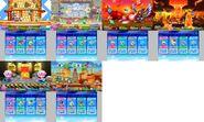 Kirby - Kirby Fighters Z Maps