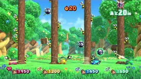 Mini-Juego1 Kirby Star Allies