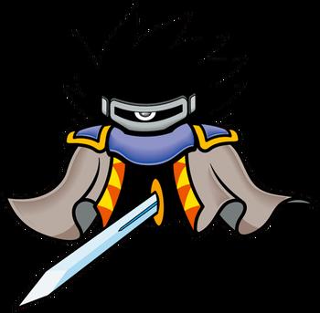 Dark Matter Blade