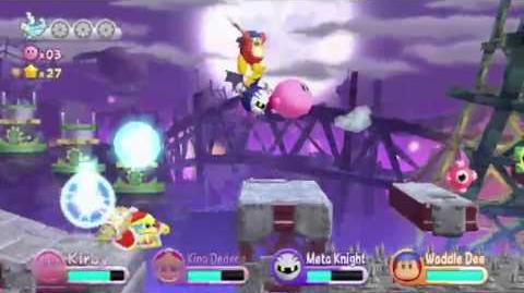 Kirby's Wii Adventure Trailer