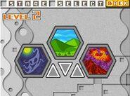 Arange gorge level select