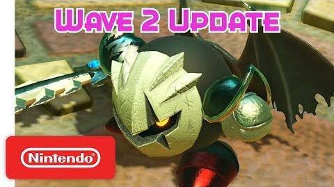 Kirby Star Allies Wave 2 Update - Dark Meta Knight - Nintendo Switch