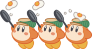 Kirby Cafe Waddle Dees artwork