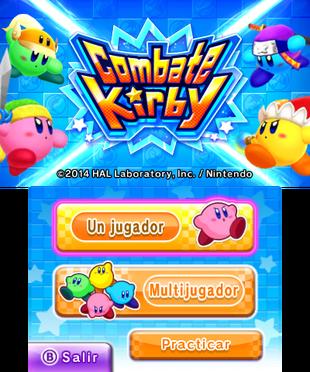 Pantalla de título (Latinoamérica)