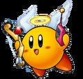 Yellow Kirby Amazing Mirror