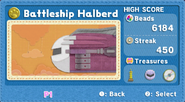KEY Battleship Halberd